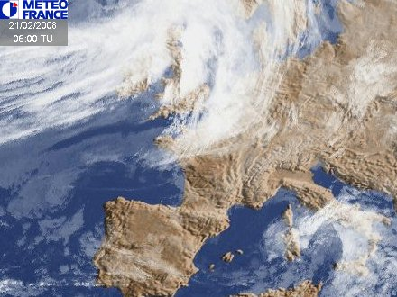 European And African Satellite Imagery